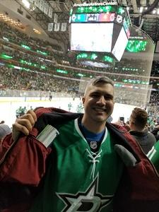 Mark attended Dallas Stars vs. New Jersey Devils - NHL on Jan 2nd 2019 via VetTix