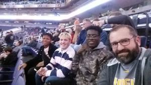 Bryan attended Phoenix Suns vs. Philadelphia 76ers - NBA on Jan 2nd 2019 via VetTix