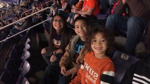 Marcell attended Phoenix Suns vs. Philadelphia 76ers - NBA on Jan 2nd 2019 via VetTix