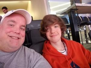 Peirce attended Phoenix Suns vs. Philadelphia 76ers - NBA on Jan 2nd 2019 via VetTix