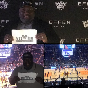 John Graves attended Phoenix Suns vs. Philadelphia 76ers - NBA on Jan 2nd 2019 via VetTix