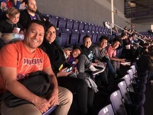 Renee attended Phoenix Suns vs. Philadelphia 76ers - NBA on Jan 2nd 2019 via VetTix