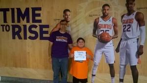 Gregory attended Phoenix Suns vs. Philadelphia 76ers - NBA on Jan 2nd 2019 via VetTix