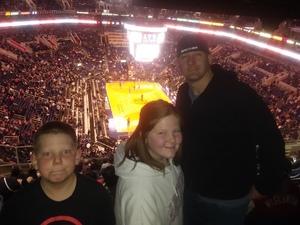Noel attended Phoenix Suns vs. Philadelphia 76ers - NBA on Jan 2nd 2019 via VetTix