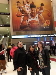 Michael attended Phoenix Suns vs. Philadelphia 76ers - NBA on Jan 2nd 2019 via VetTix