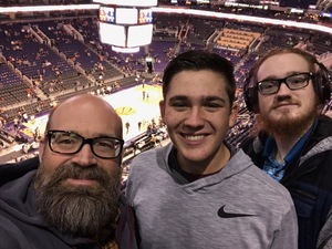 William attended Phoenix Suns vs. Philadelphia 76ers - NBA on Jan 2nd 2019 via VetTix
