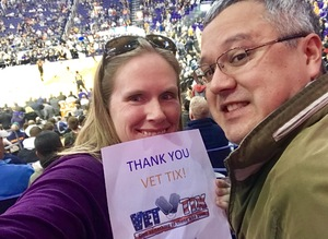 Glen & Kit attended Phoenix Suns vs. LA Clippers - NBA on Jan 4th 2019 via VetTix