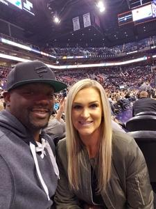 Ralmon Mcafee attended Phoenix Suns vs. LA Clippers - NBA on Jan 4th 2019 via VetTix