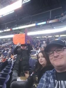 Marc attended Phoenix Suns vs. LA Clippers - NBA on Jan 4th 2019 via VetTix
