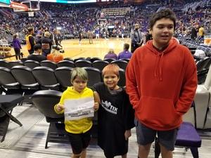 Lorenzo attended Phoenix Suns vs. LA Clippers - NBA on Jan 4th 2019 via VetTix