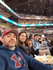 Edgar attended Phoenix Suns vs. LA Clippers - NBA on Jan 4th 2019 via VetTix