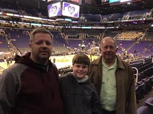 Dennis attended Phoenix Suns vs. LA Clippers - NBA on Jan 4th 2019 via VetTix