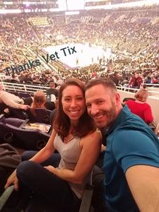 Nicolle attended Phoenix Suns vs. LA Clippers - NBA on Jan 4th 2019 via VetTix