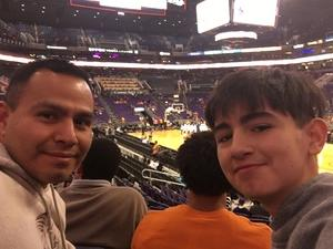Jesus attended Phoenix Suns vs. LA Clippers - NBA on Jan 4th 2019 via VetTix