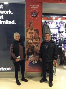 Matt attended Phoenix Suns vs. LA Clippers - NBA on Jan 4th 2019 via VetTix