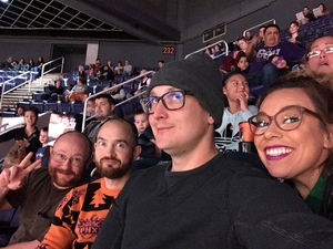 sarah attended Phoenix Suns vs. LA Clippers - NBA on Jan 4th 2019 via VetTix