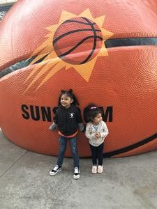 Luis attended Phoenix Suns vs. LA Clippers - NBA on Jan 4th 2019 via VetTix