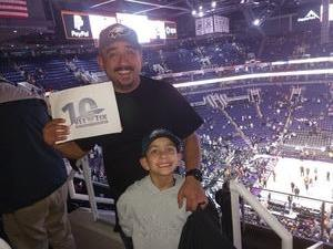 Chris Holden attended Phoenix Suns vs. LA Clippers - NBA on Jan 4th 2019 via VetTix