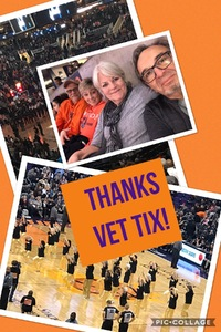 Harry attended Phoenix Suns vs. LA Clippers - NBA on Jan 4th 2019 via VetTix