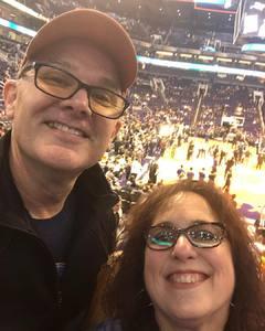 John attended Phoenix Suns vs. LA Clippers - NBA on Jan 4th 2019 via VetTix