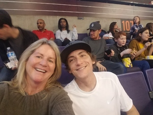 Kimberly attended Phoenix Suns vs. LA Clippers - NBA on Jan 4th 2019 via VetTix