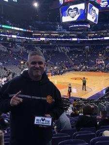 Shawn attended Phoenix Suns vs. LA Clippers - NBA on Jan 4th 2019 via VetTix