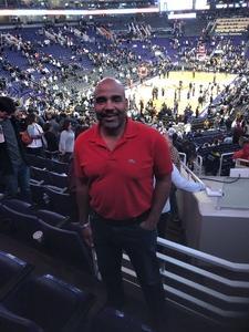 Vincent attended Phoenix Suns vs. LA Clippers - NBA on Jan 4th 2019 via VetTix