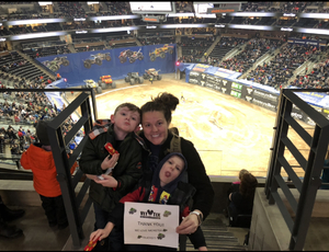 Thomas attended Monster Jam Triple Threat Series - Motorsports/racing on Jan 4th 2019 via VetTix