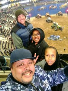 Daniel Pohorelsky attended Monster Jam Triple Threat Series - Motorsports/racing on Jan 4th 2019 via VetTix