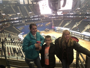 Justin attended Monster Jam Triple Threat Series - Motorsports/racing on Jan 4th 2019 via VetTix