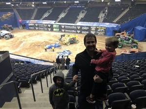 curt attended Monster Jam Triple Threat Series - Motorsports/racing on Jan 4th 2019 via VetTix