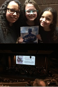 Kelly attended MYTHICAL HEROES and WOMEN WARRIORS - Presented by the Fargo - Moorhead Symphony Orchestra on Jan 27th 2019 via VetTix