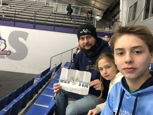David attended Lone Star Brahmas vs Shreveport Mudbugs - NAHL on Jan 21st 2019 via VetTix