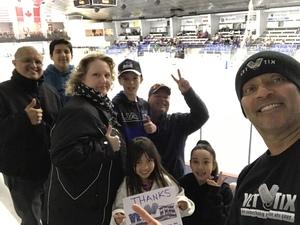 Jose attended Lone Star Brahmas vs Shreveport Mudbugs - NAHL on Jan 21st 2019 via VetTix