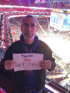 Howard attended Detroit Pistons vs. Orlando Magic - NBA on Jan 16th 2019 via VetTix