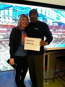 Dennis attended Detroit Pistons vs. Orlando Magic - NBA on Jan 16th 2019 via VetTix