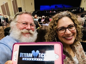 JT attended Jay Leno Live In Concert on Jan 5th 2019 via VetTix
