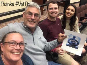 Christopher attended Jay Leno Live In Concert on Jan 5th 2019 via VetTix