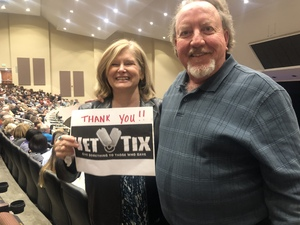 Steve attended Jay Leno Live In Concert on Jan 5th 2019 via VetTix