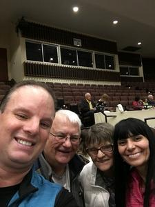 Brandon attended Jay Leno Live In Concert on Jan 5th 2019 via VetTix
