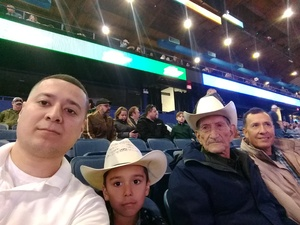 francisco/guadalupe attended PBR - Unleash the Beast - Sunday Performance Only on Jan 13th 2019 via VetTix