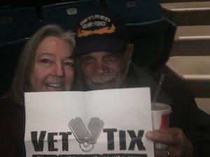 Eva attended The Temptations and the Four Tops on Jan 5th 2019 via VetTix