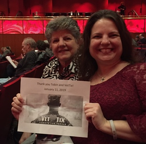 Renita attended Brahms Symphony No. 4 - Presented by the San Antonio Symphony on Jan 11th 2019 via VetTix
