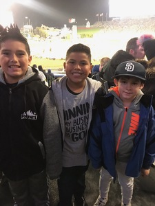 Christian attended Monster Energy Supercross on Jan 5th 2019 via VetTix