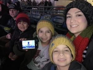 Melissa attended Monster Energy Supercross on Jan 5th 2019 via VetTix