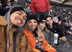 Jesus attended Monster Energy Supercross on Jan 5th 2019 via VetTix