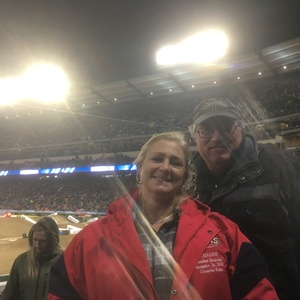 Mark attended Monster Energy Supercross on Jan 5th 2019 via VetTix