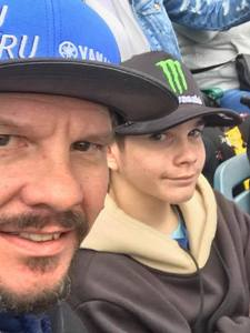 Michael Wondoloski attended Monster Energy Supercross on Jan 5th 2019 via VetTix