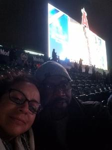 Will attended Monster Energy Supercross on Jan 5th 2019 via VetTix