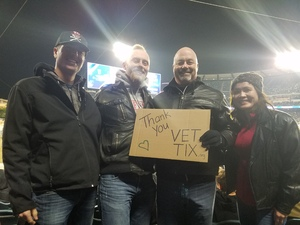 RICH attended Monster Energy Supercross on Jan 5th 2019 via VetTix